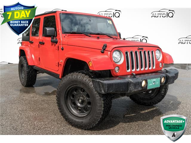 2018 Jeep Wrangler JK Unlimited Sahara (Stk: 27852UJ) in Barrie - Image 1 of 23