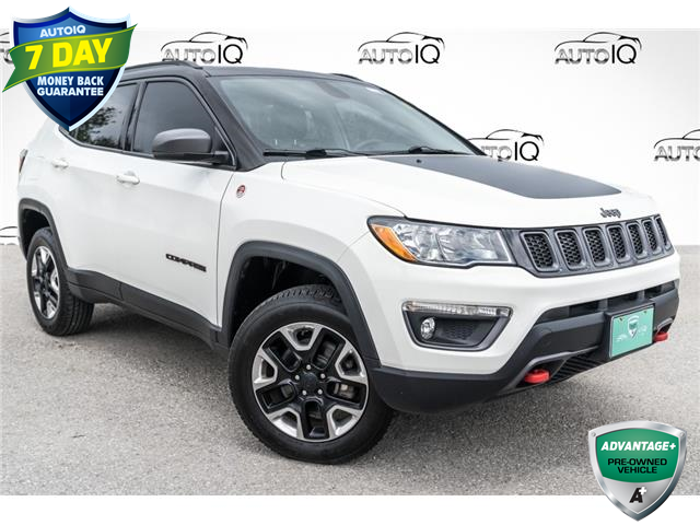 2017 Jeep Compass Trailhawk (Stk: 34774CU) in Barrie - Image 1 of 28