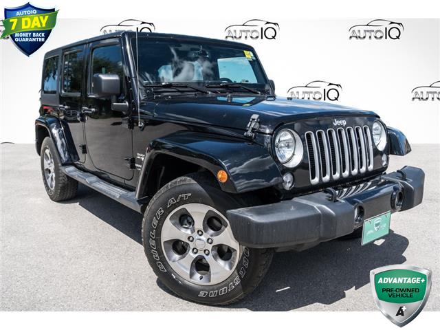 2018 Jeep Wrangler JK Unlimited Sahara (Stk: 27862UX) in Barrie - Image 1 of 18