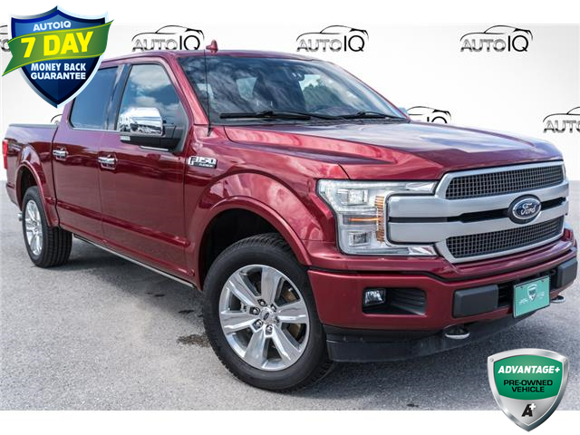 2018 Ford F-150 Platinum (Stk: 35054AU) in Barrie - Image 1 of 29