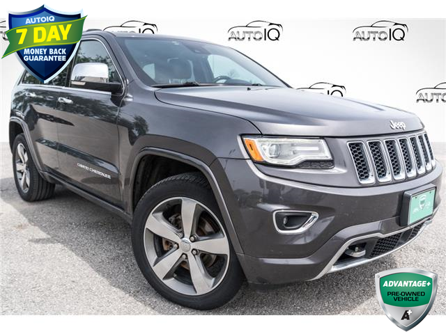2016 Jeep Grand Cherokee Overland (Stk: 27981UX) in Barrie - Image 1 of 28