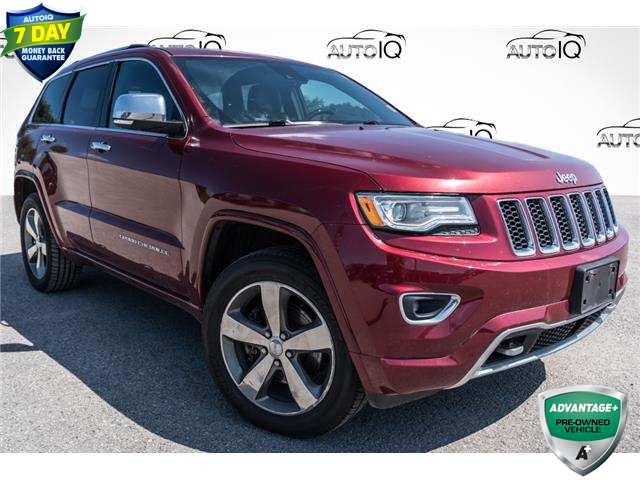 2015 Jeep Grand Cherokee Overland (Stk: 34881AU) in Barrie - Image 1 of 29