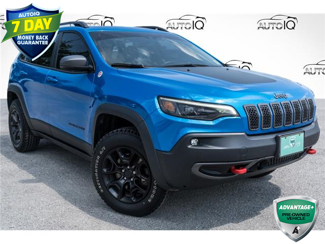 2019 Jeep Cherokee Trailhawk (Stk: 34902AUX) in Barrie - Image 1 of 29