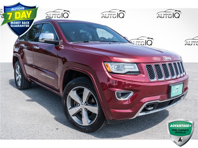 2015 Jeep Grand Cherokee Overland (Stk: 34881AUX) in Barrie - Image 1 of 28