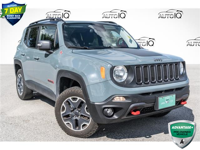 2016 Jeep Renegade Trailhawk (Stk: 35271AU) in Barrie - Image 1 of 28