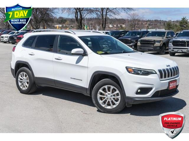 2019 Jeep Cherokee North (Stk: 27378UR) in Barrie - Image 1 of 29