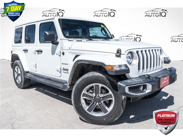 2021 Jeep Wrangler Unlimited Sahara (Stk: 27878UR) in Barrie - Image 1 of 22