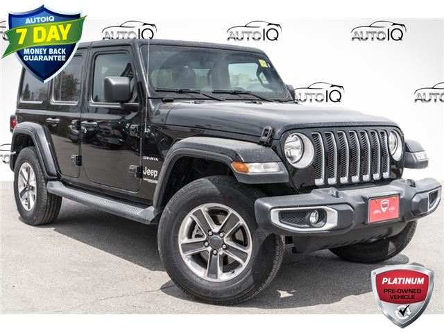 2021 Jeep Wrangler Unlimited Sahara (Stk: 27911UR) in Barrie - Image 1 of 23