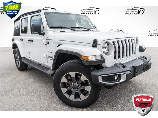 2019 Jeep Wrangler Unlimited Sahara (Stk: 34552AU) in Barrie - Image 1 of 23