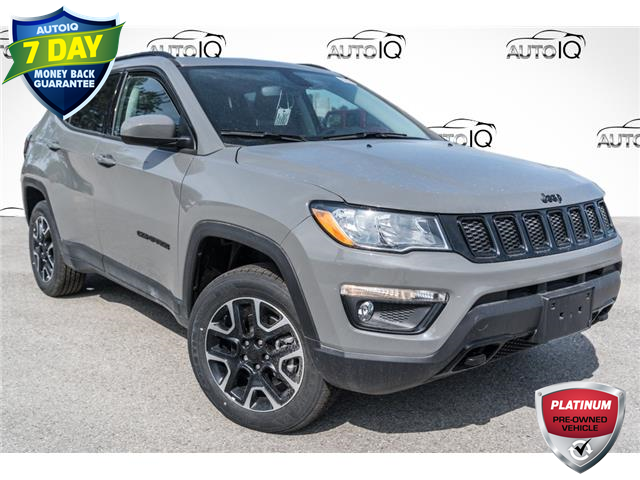2021 Jeep Compass Sport (Stk: 34786D) in Barrie - Image 1 of 27