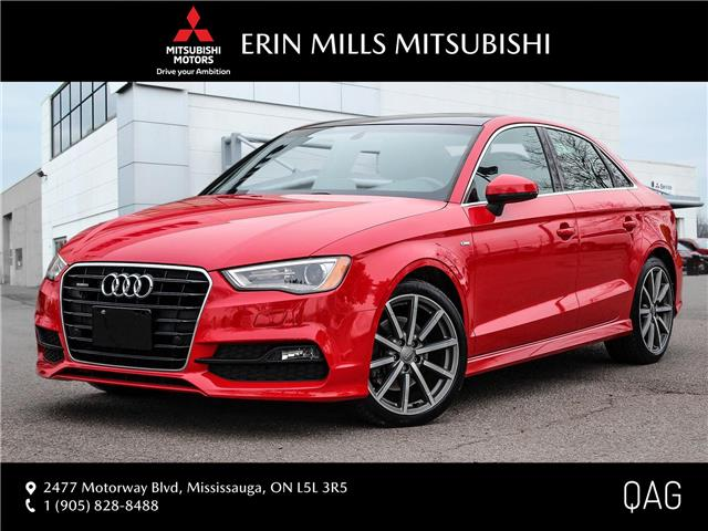 2016 Audi A3 2.0T Technik (Stk: P2460) in Mississauga - Image 1 of 30