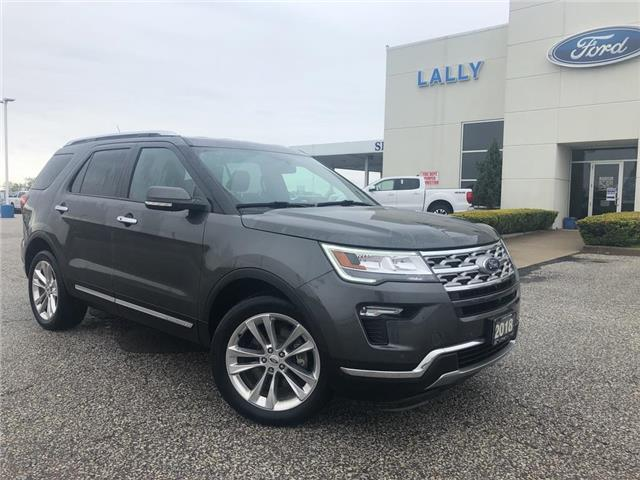 2018 Ford Explorer Limited (Stk: S6616A) in Leamington - Image 1 of 25