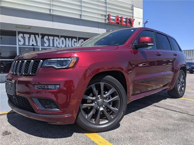2018 Jeep Grand Cherokee Overland (Stk: K3934) in Chatham - Image 1 of 20