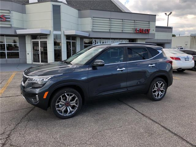 2021 Kia Seltos SX Turbo (Stk: KSEL2169) in Chatham - Image 1 of 15