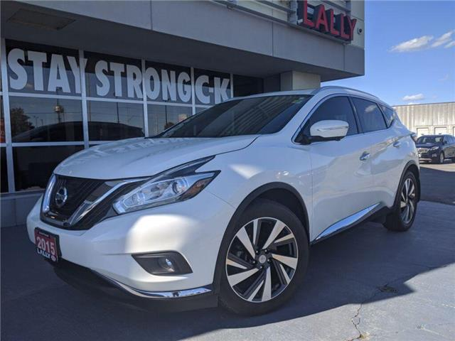 2015 Nissan Murano Platinum (Stk: K3966A) in Chatham - Image 1 of 21