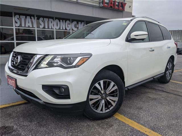 2017 Nissan Pathfinder SL (Stk: KSOR2204A) in Chatham - Image 1 of 25