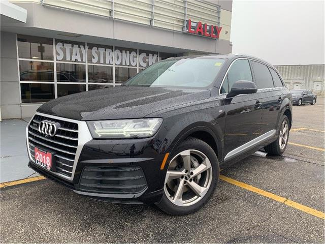 2018 Audi Q7 3.0T Progressiv (Stk: K4013) in Chatham - Image 1 of 26