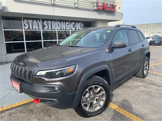 2020 Jeep Cherokee Trailhawk (Stk: K4027) in Chatham - Image 1 of 24