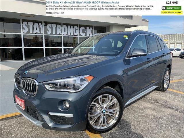 2019 BMW X1 xDrive28i (Stk: K4025) in Chatham - Image 1 of 28