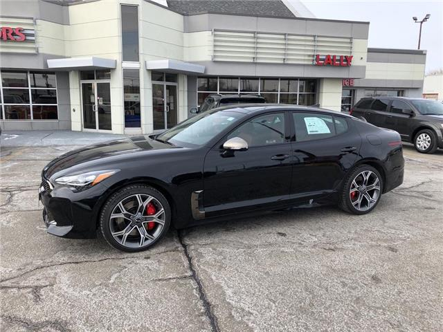 2021 Kia Stinger GT Limited w/Red Interior (Stk: KSTI2392) in Chatham - Image 1 of 19