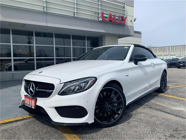 2018 Mercedes-Benz AMG C 43 Base (Stk: K4077) in Chatham - Image 1 of 27