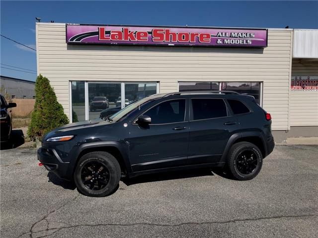 2016 Jeep Cherokee Trailhawk (Stk: K9391) in Tilbury - Image 1 of 18