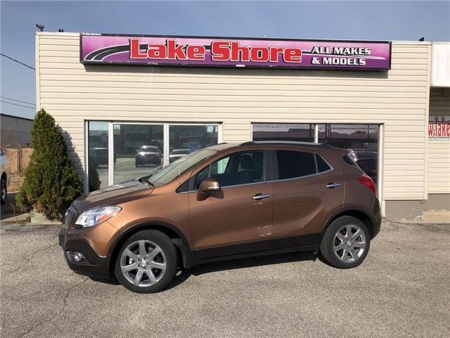 2016 Buick Encore Premium (Stk: K9407) in Tilbury - Image 1 of 11