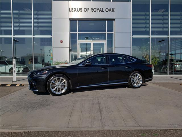 2018 Lexus LS 500 L (Stk: L20471A) in Calgary - Image 1 of 26
