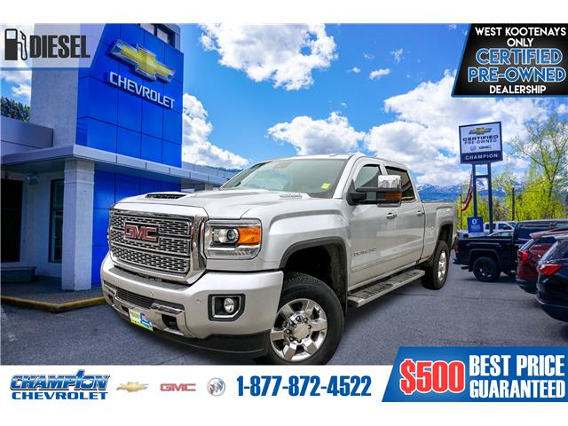 2018 GMC Sierra 3500HD Denali (Stk: 20-48A) in Trail - Image 1 of 28