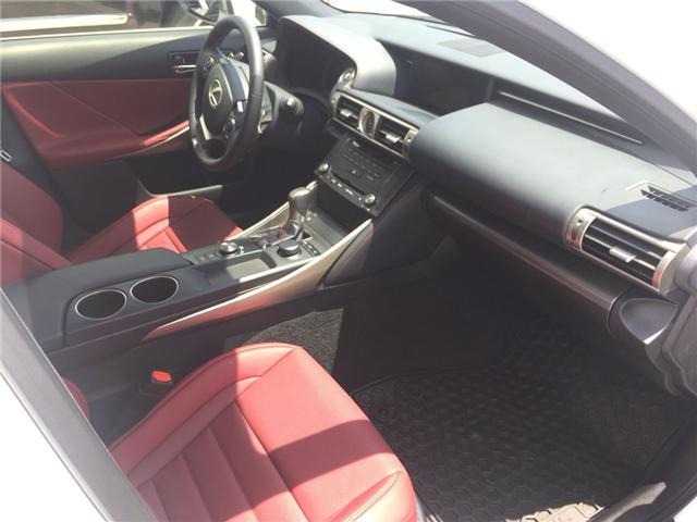 2016 Lexus IS 200t Base (Stk: S200T) in Brampton - Image 6 of 6