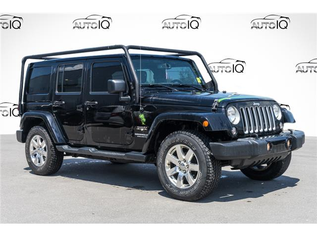 2016 Jeep Wrangler Unlimited Sahara (Stk: 43735AUX) in Innisfil - Image 1 of 25