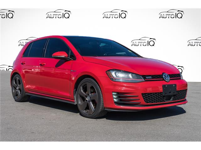 2015 Volkswagen Golf GTI 5-Door Autobahn (Stk: 43843AUX) in Innisfil - Image 1 of 27