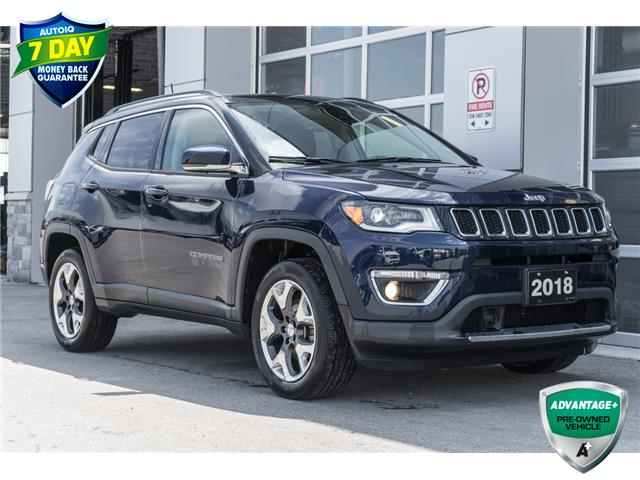 2018 Jeep Compass Limited (Stk: 10694UR) in Innisfil - Image 1 of 30