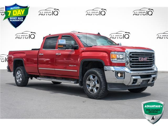 2015 GMC Sierra 3500HD SLT (Stk: 43849AU) in Innisfil - Image 1 of 26