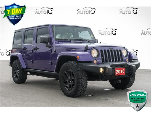 2016 Jeep Wrangler Unlimited Sahara (Stk: 43785AU) in Innisfil - Image 1 of 24