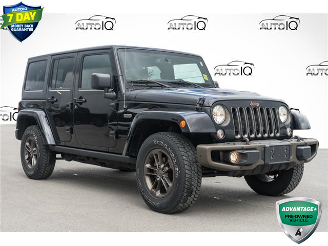 2016 Jeep Wrangler Unlimited Sahara (Stk: 43896AU) in Innisfil - Image 1 of 24