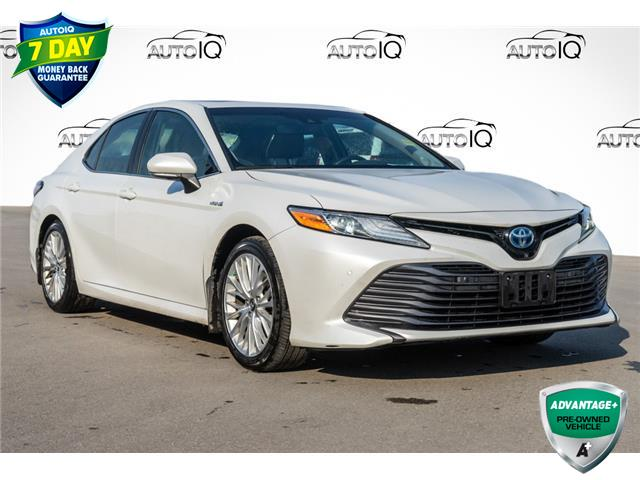 2018 Toyota Camry Hybrid LE (Stk: 44124AUX) in Innisfil - Image 1 of 26