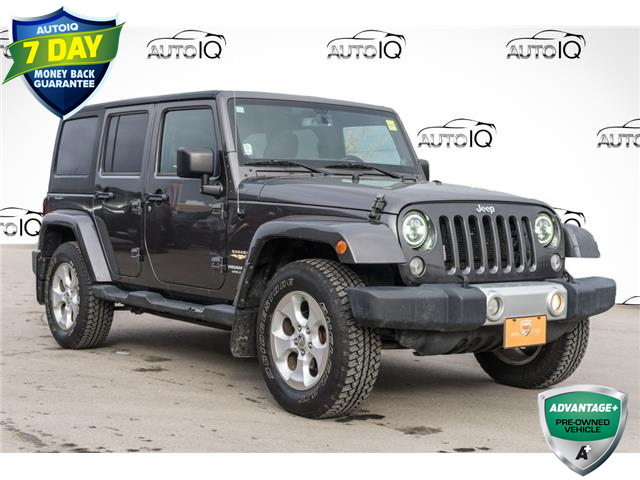 2014 Jeep Wrangler Unlimited Sahara (Stk: 44010BUXJ) in Innisfil - Image 1 of 12
