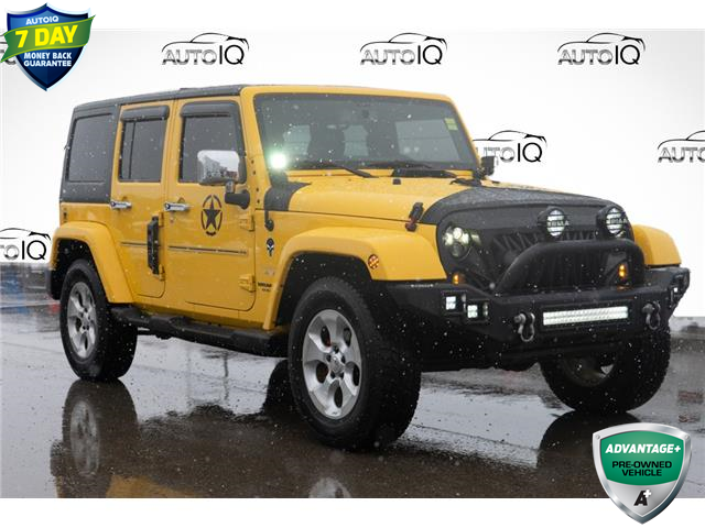 2015 Jeep Wrangler Unlimited Sahara (Stk: 44002AU) in Innisfil - Image 1 of 20