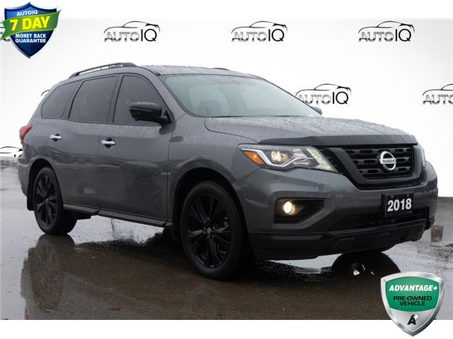 2018 Nissan Pathfinder Midnight Edition Grey