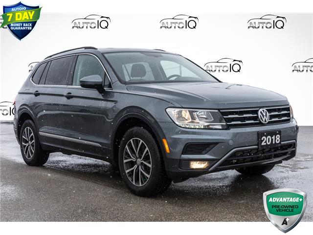 2018 Volkswagen Tiguan Comfortline (Stk: 43997AU) in Innisfil - Image 1 of 26