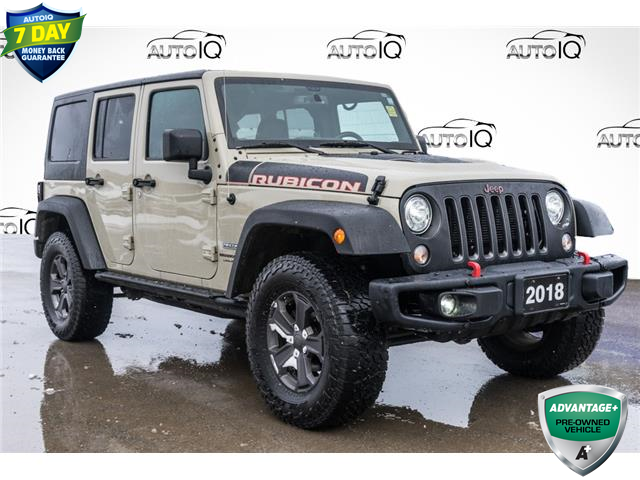 2018 Jeep Wrangler JK Unlimited Rubicon (Stk: 44382AU) in Innisfil - Image 1 of 21