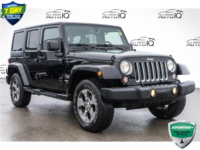 2016 Jeep Wrangler Unlimited Sahara Black