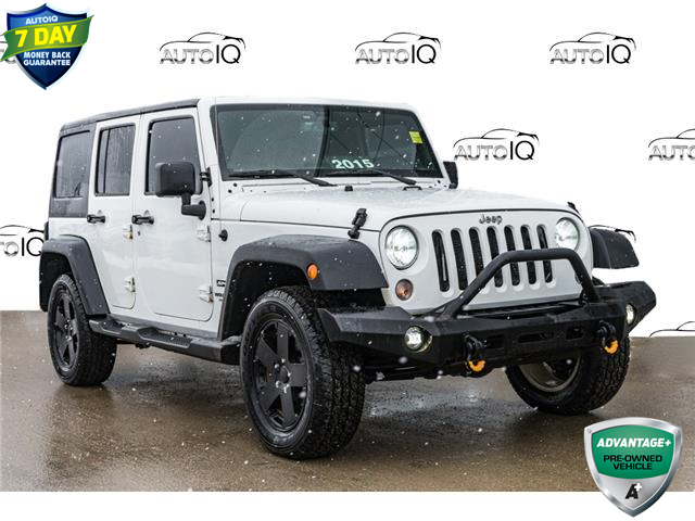 2015 Jeep Wrangler Unlimited Sport (Stk: 44233AU) in Innisfil - Image 1 of 24