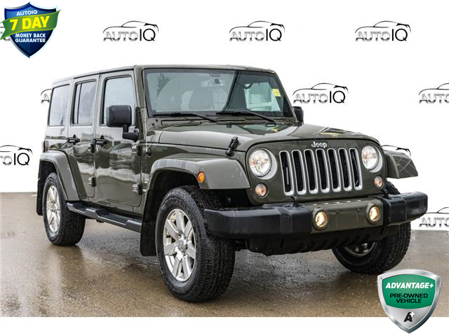 2016 Jeep Wrangler Unlimited Sahara (Stk: 44521AUJ) in Innisfil - Image 1 of 20