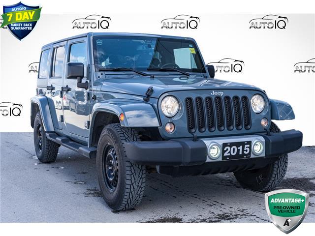 2015 Jeep Wrangler Unlimited Sahara (Stk: 44399BU) in Innisfil - Image 1 of 20