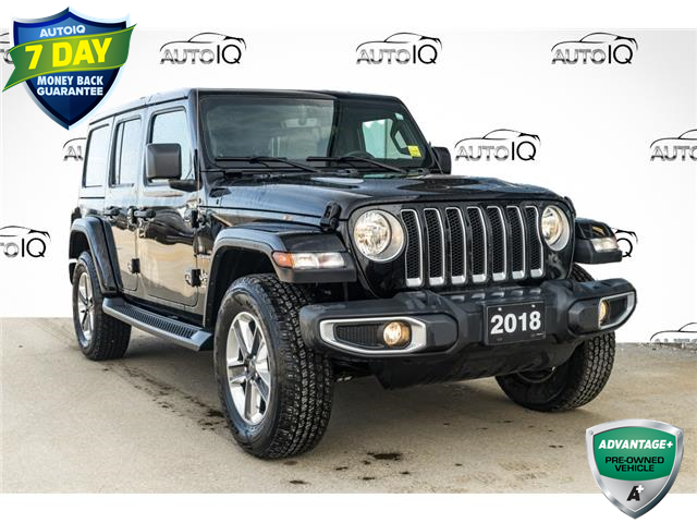 2018 Jeep Wrangler Unlimited Sahara (Stk: 10819U) in Innisfil - Image 1 of 25