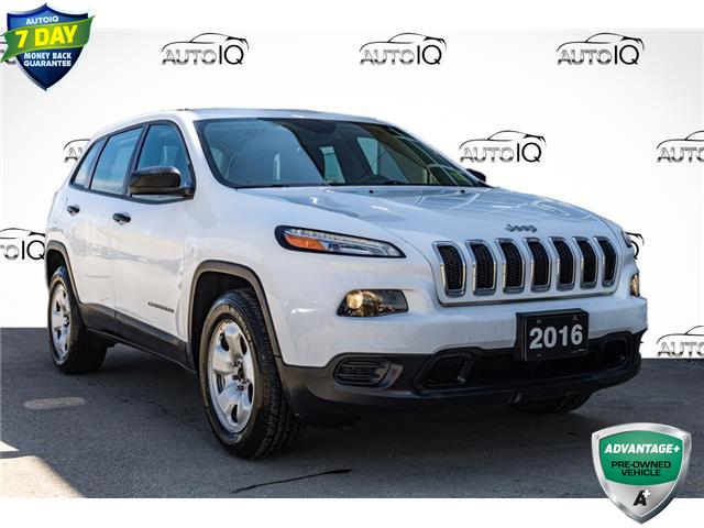 2016 Jeep Cherokee Sport (Stk: 44747AUX) in Innisfil - Image 1 of 25