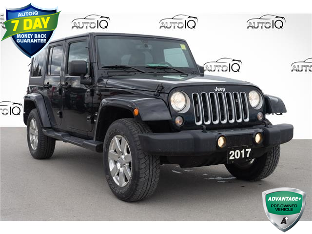 2017 Jeep Wrangler Unlimited Sahara (Stk: 44804AU) in Innisfil - Image 1 of 24