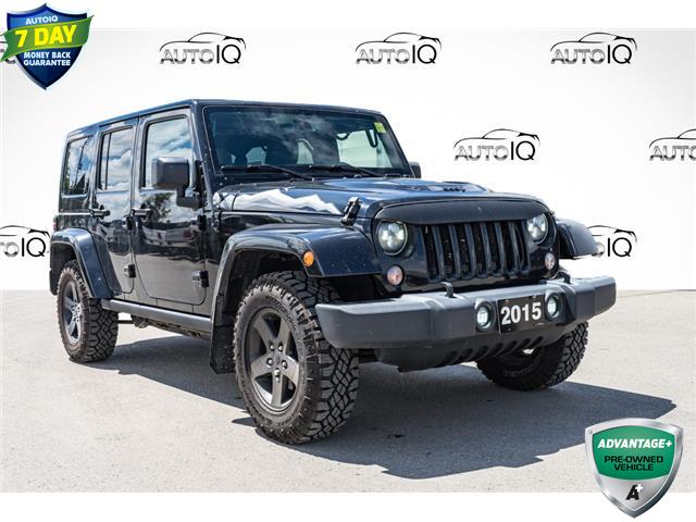 2015 Jeep Wrangler Unlimited Sahara (Stk: 10853AU) in Innisfil - Image 1 of 21